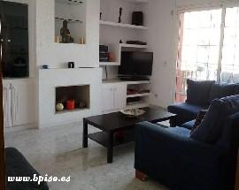 Habitacion mediana con cama doble en piso totalmente equipad